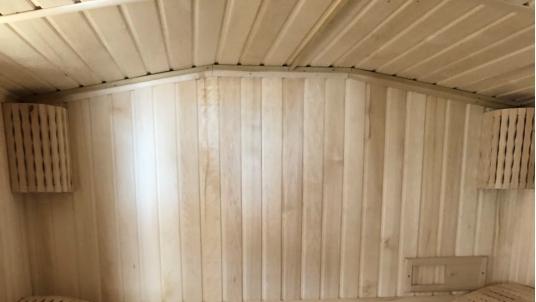 Готовая баня 2.3 на 6 c террасой