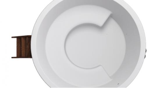 Купель композитная круглая «Премиум» термососна
