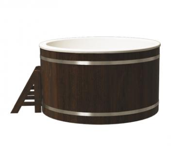 Купель композитная круглая «Классик» термоясень